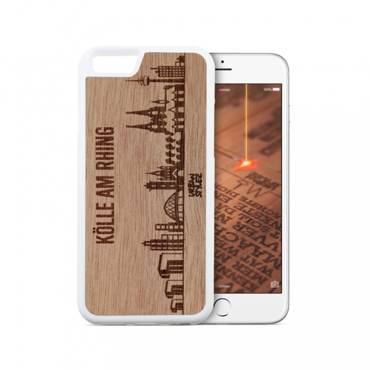 "iPhone 8 - Handy Cover ""Skyline"" (Gabun)"